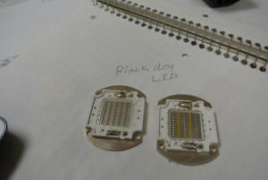 Black Dog style led chip